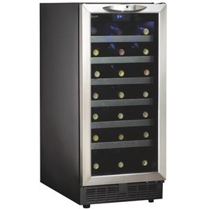3.3 Cu. Ft. Silhouette Series Wine Cooler with 34 Bottle Capacity