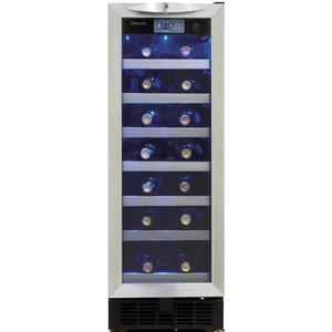 2.5 Cu. Ft. Silhouette Series Wine Cooler with 27 Bottle Capacity