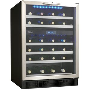 5.1 Cu. Ft. Silhouette Series Wine Cooler with 51 Bottle Capacity