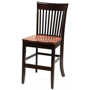 """Side Chair 30"""" High Stationary Base Stool"""
