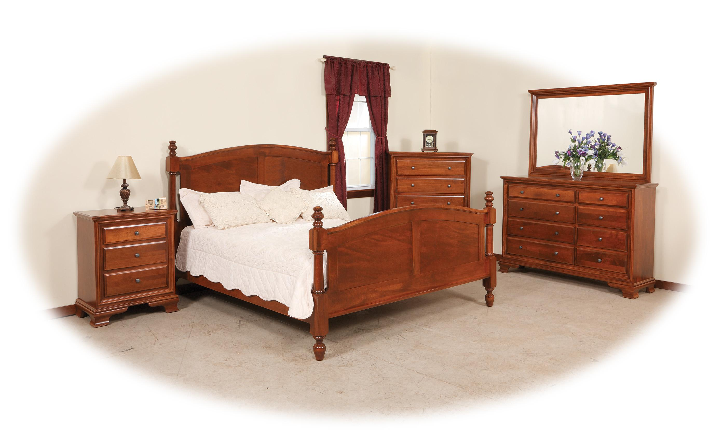 Classic King Bedroom Group by Daniel's Amish at Gill Brothers Furniture