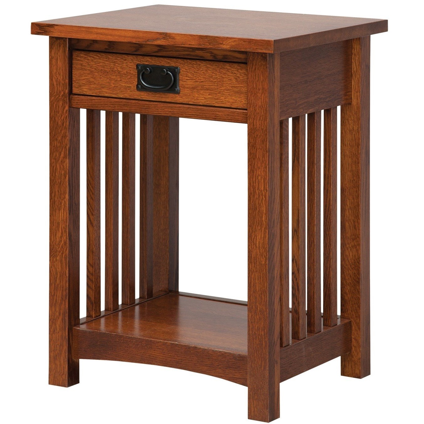 Elegance Nightstand by Daniel's Amish at Rotmans