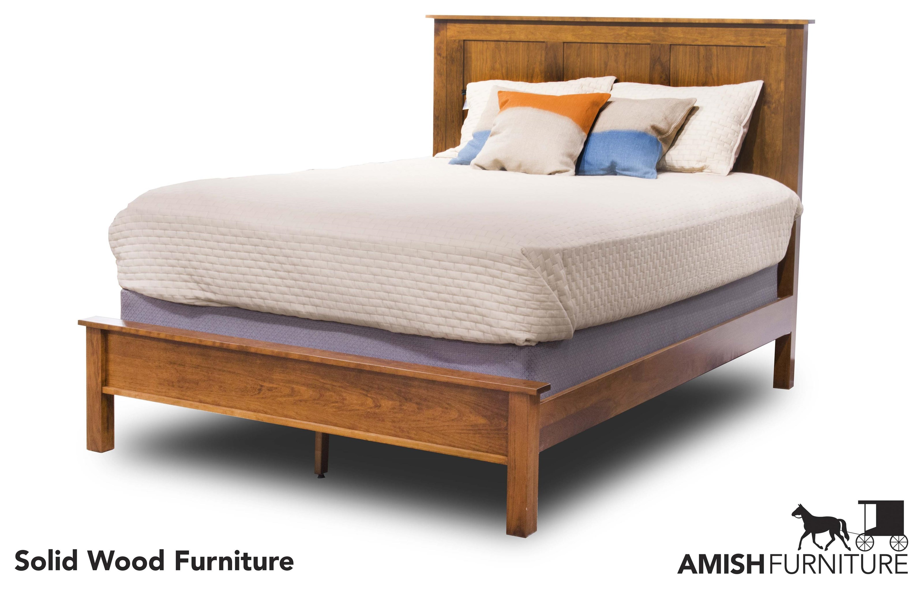 Elegance Queen Bed by Daniel's Amish at Ruby Gordon Home