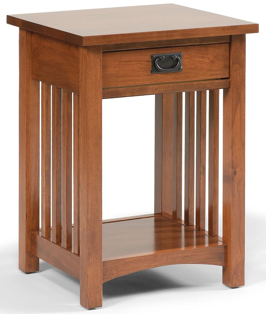 Mission Nightstand by Daniel's Amish at H.L. Stephens