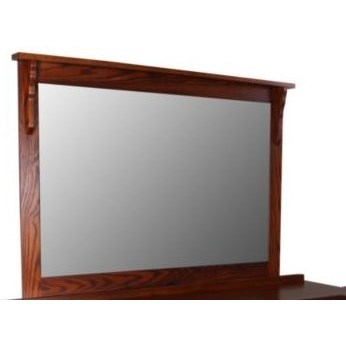 Mission Dresser Mirror by Daniel's Amish at Saugerties Furniture Mart