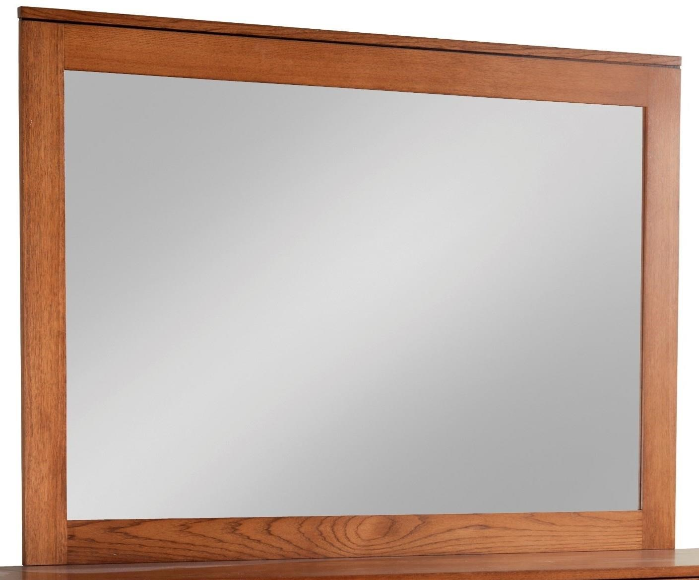 Modern Mirror by Daniel's Amish at Pilgrim Furniture City