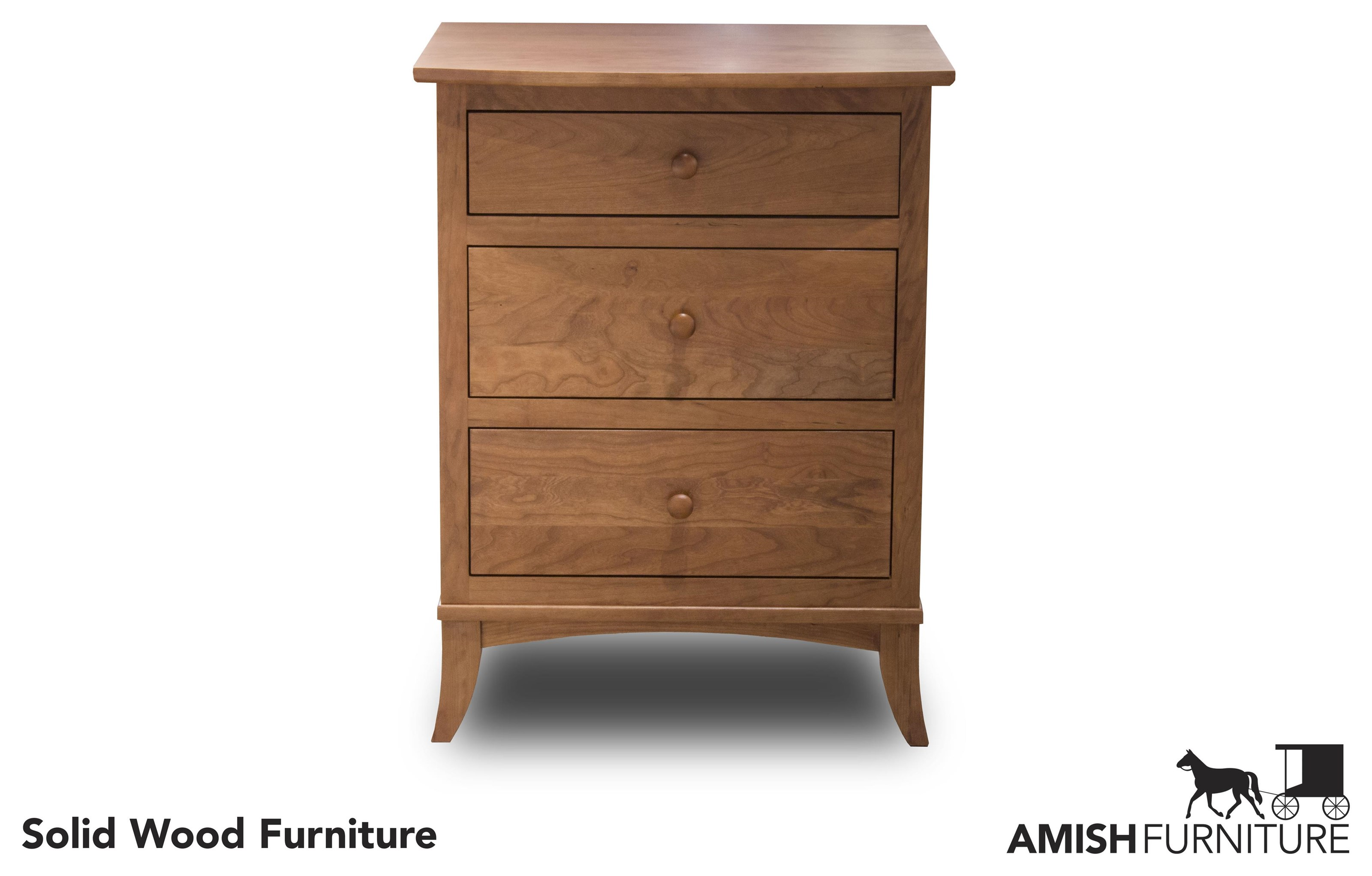 Bedfort DA Amish Nightstand by Daniel's Amish at Ruby Gordon Home