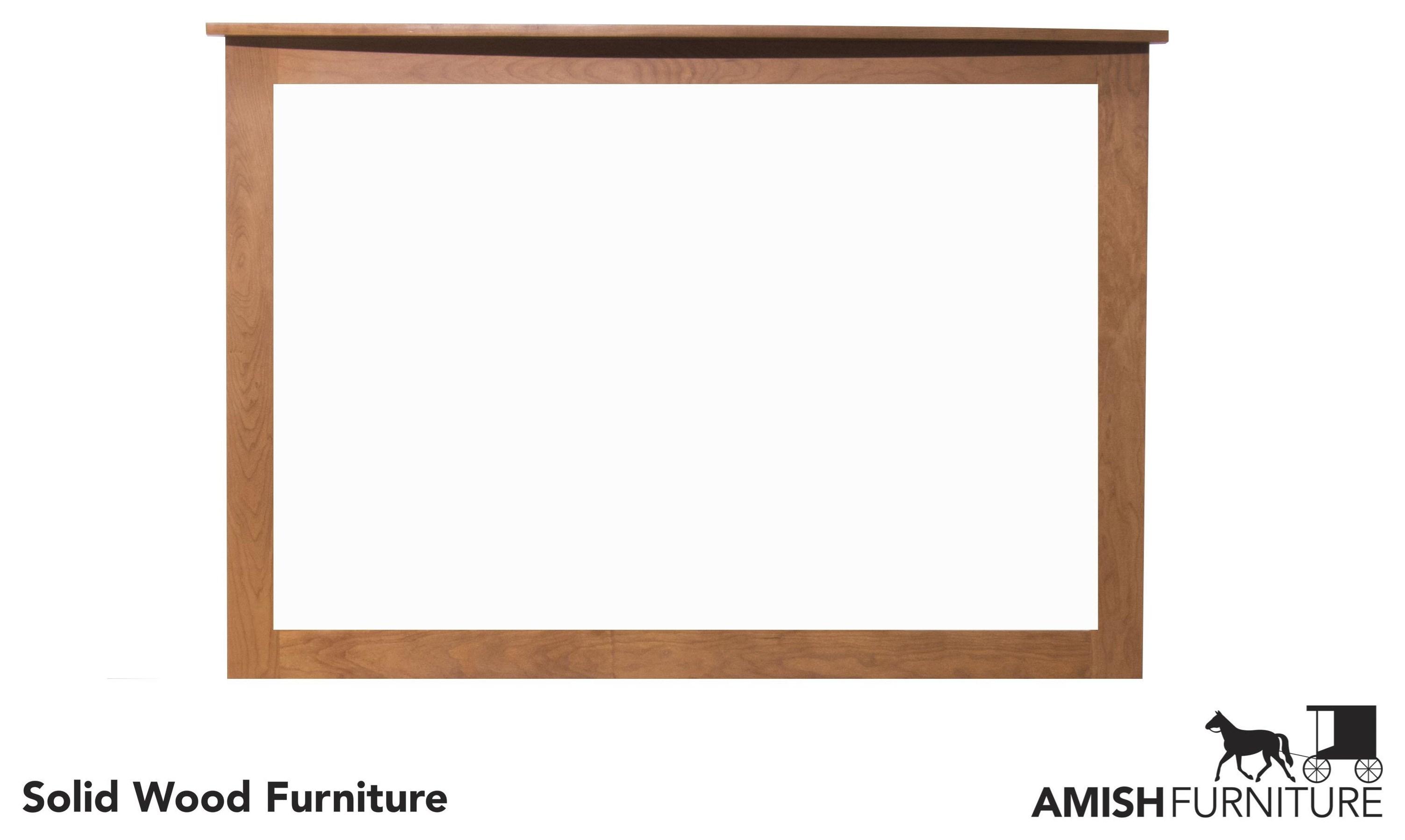 Bedfort DA Amish Dresser Mirror by Daniel's Amish at Ruby Gordon Home