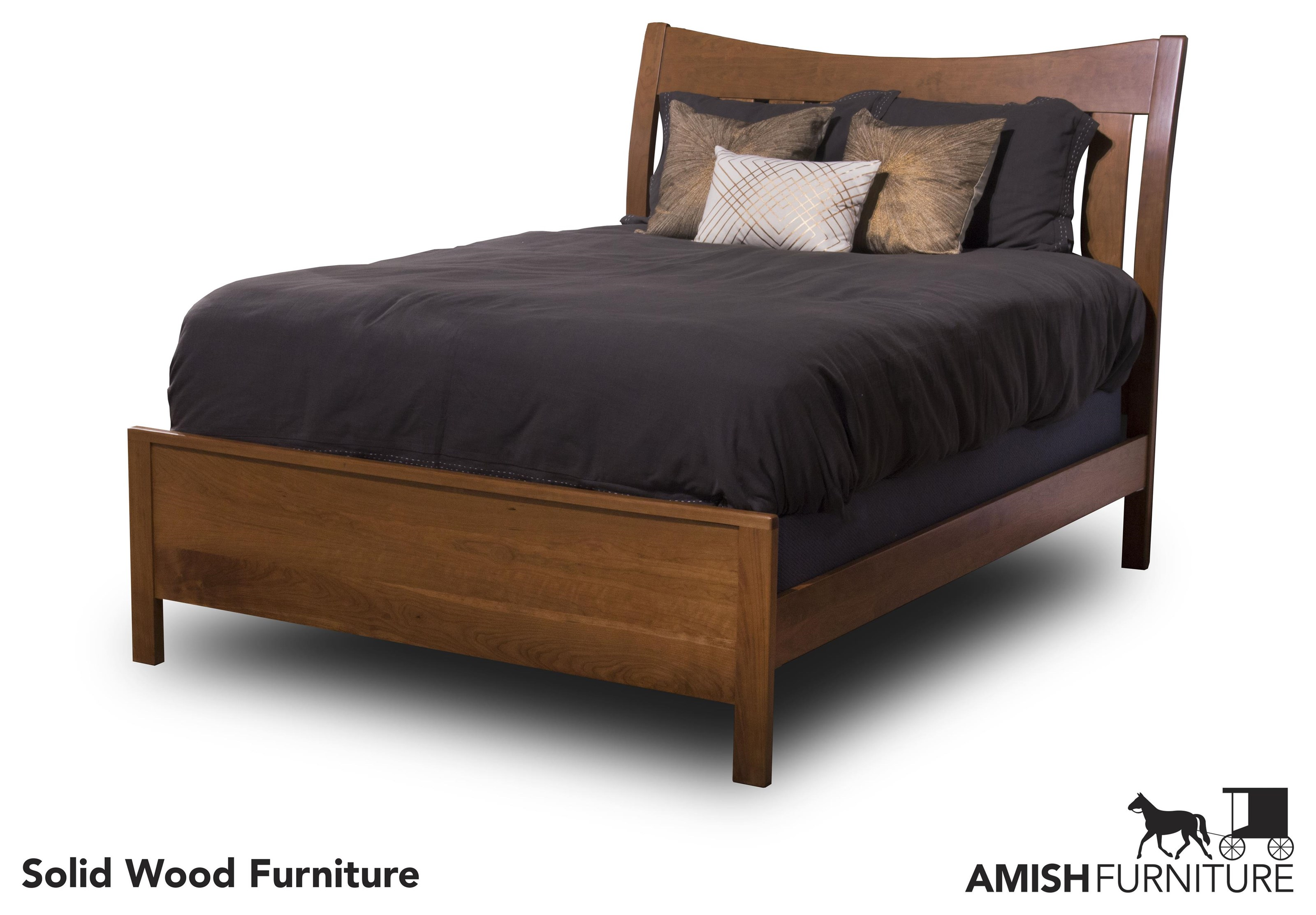 Bedfort DA Amish Queen Bed by Daniel's Amish at Ruby Gordon Home