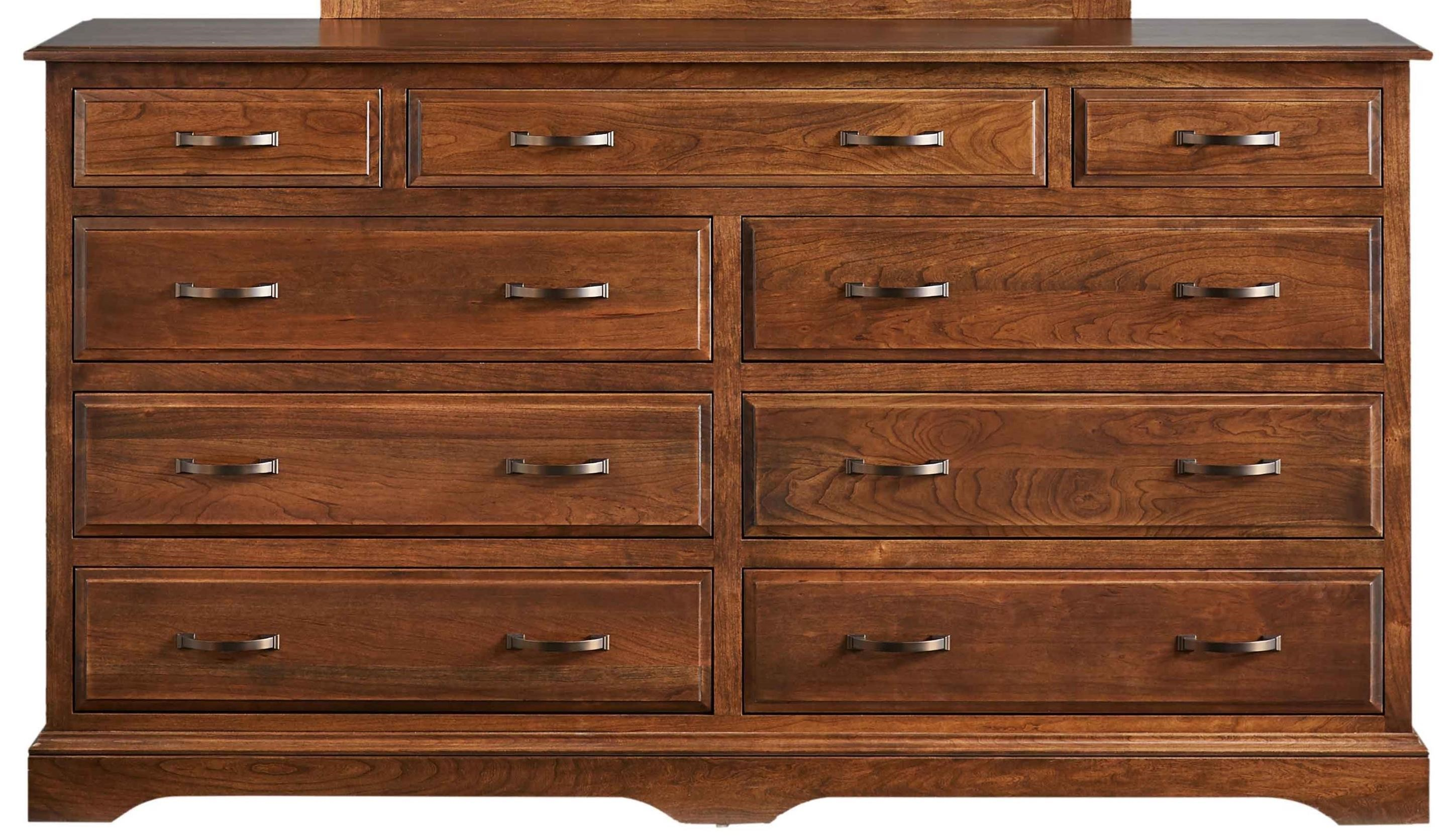 Carriage Double Dresser by Daniel's Amish at Saugerties Furniture Mart