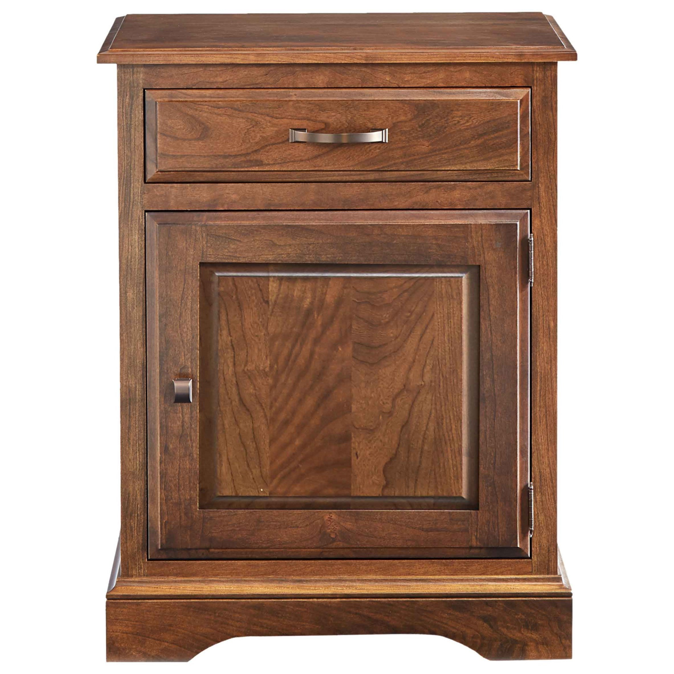Carriage Nightstand by Daniel's Amish at Saugerties Furniture Mart