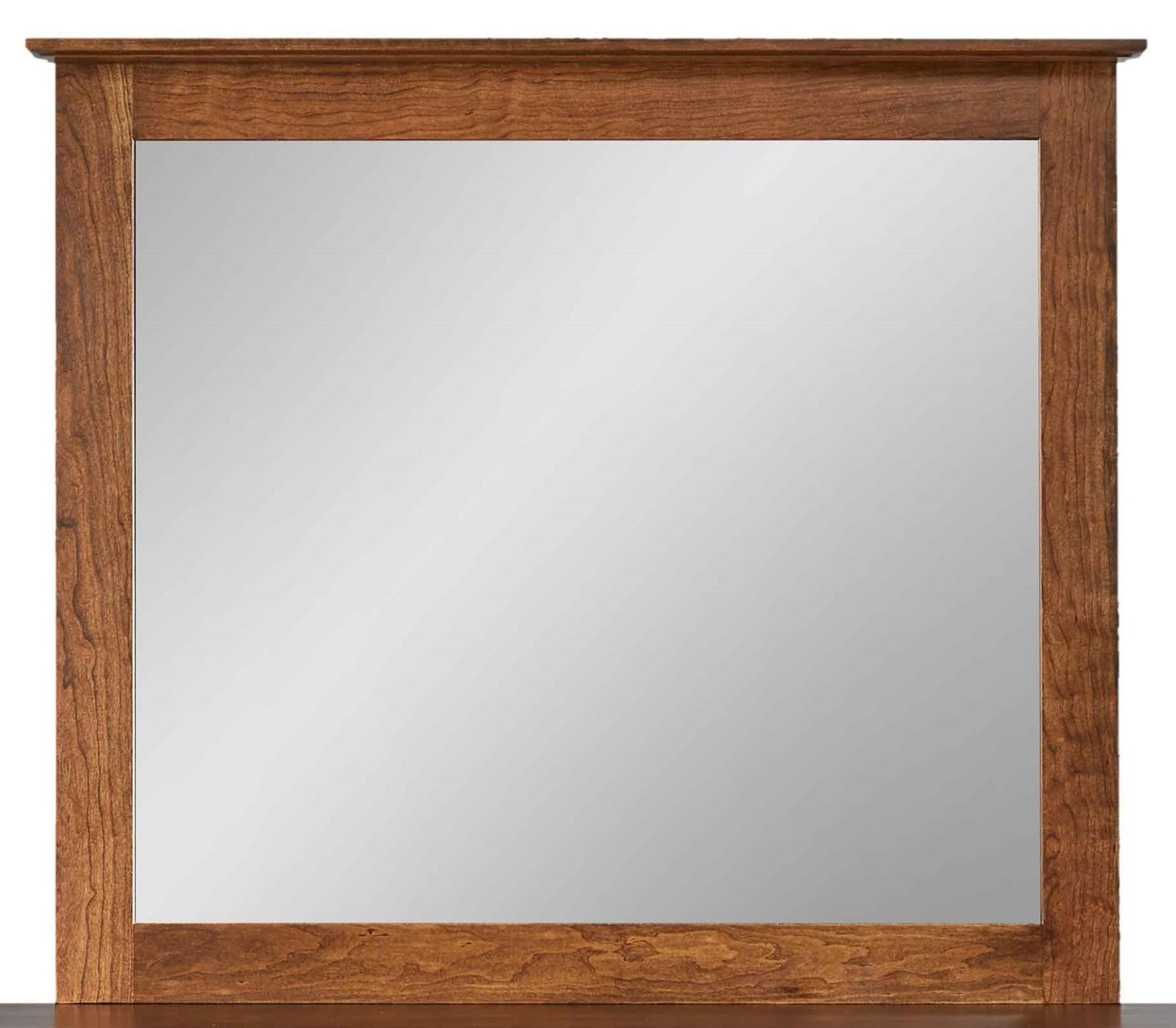 Carriage Mirror by Daniel's Amish at Saugerties Furniture Mart
