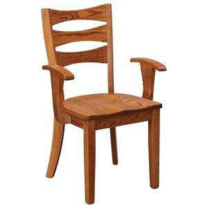 Sierra Solid Wood Arm Chair