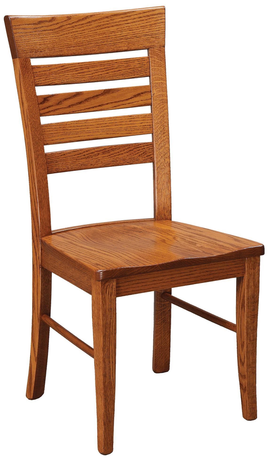 Chairs and Barstools Metro Ladder Side Chair by Daniel's Amish at Lucas Furniture & Mattress