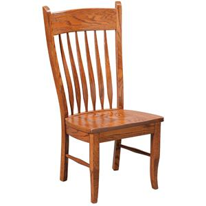 Daniel's Amish Chairs and Barstools Buckeye Side Chair