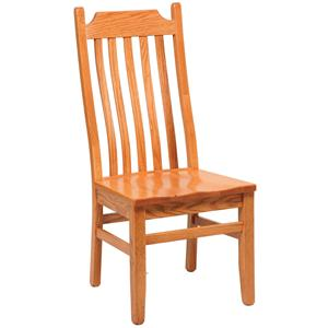 Daniel's Amish Chairs and Barstools Shaker Lumbar Side Chair