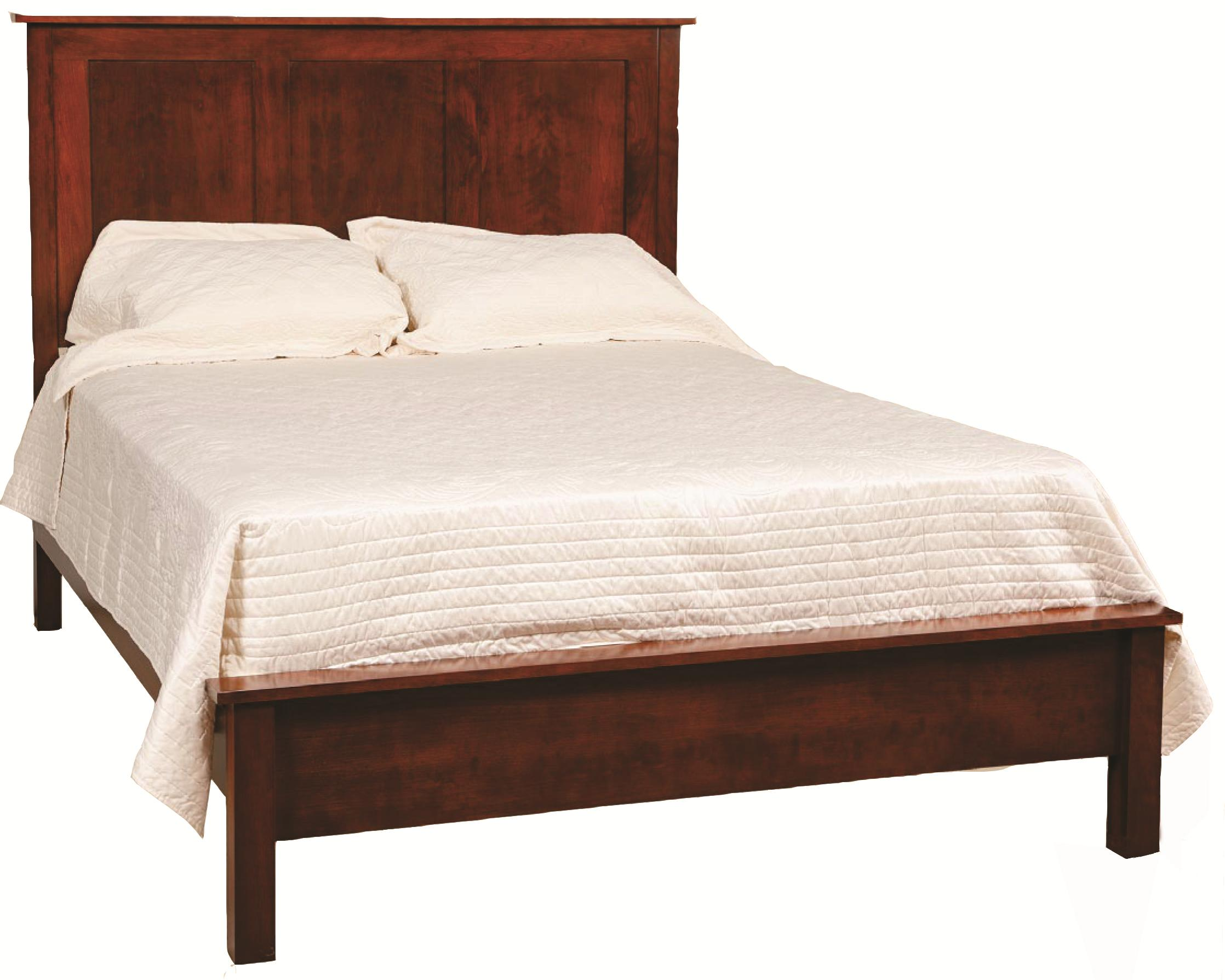 Concord  Twin Frame Bed by Daniel's Amish at Saugerties Furniture Mart