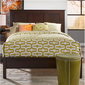 Solid Cherry King Bed