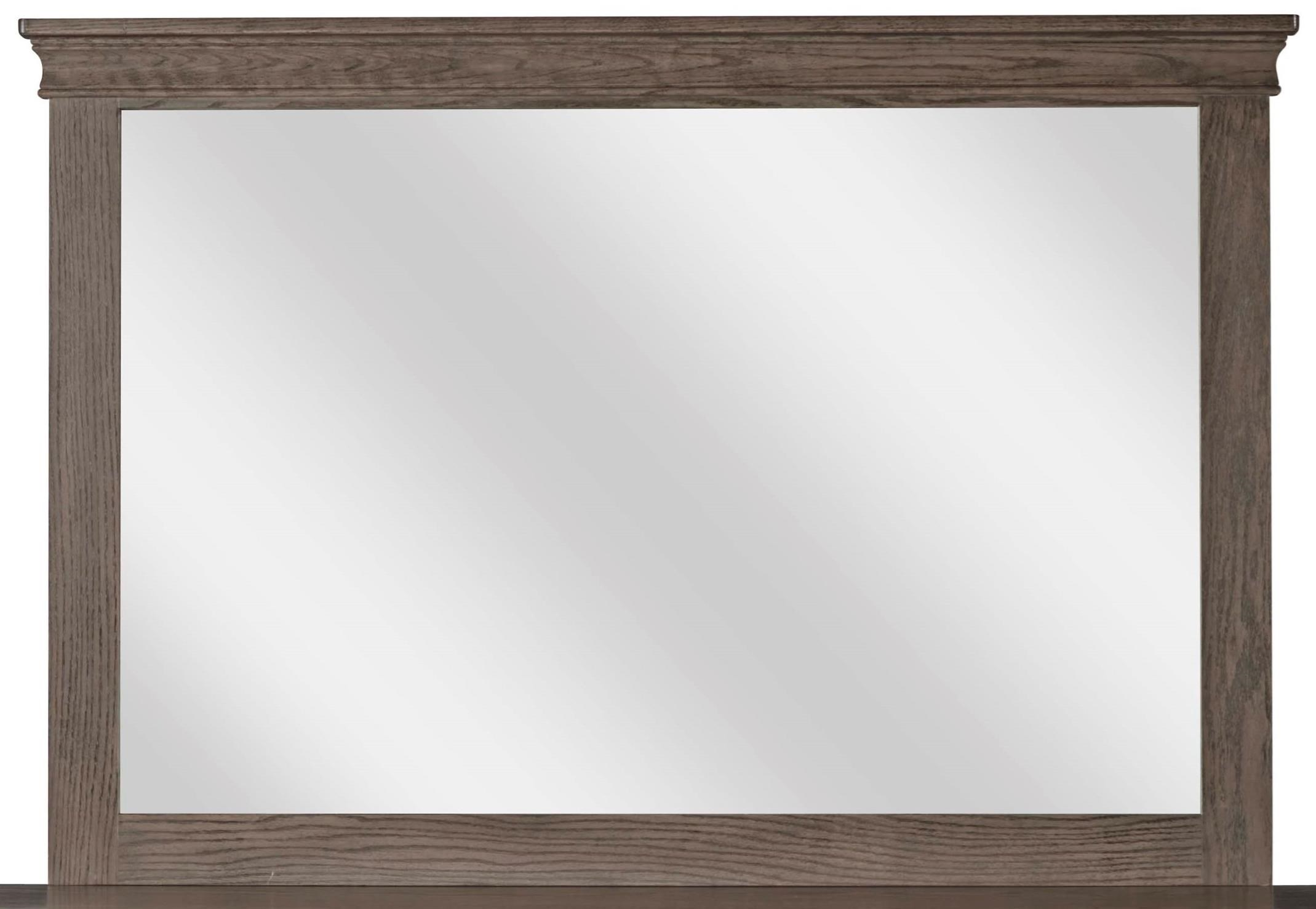 Cottage Tall Wide Mirror by Daniel's Amish at Saugerties Furniture Mart