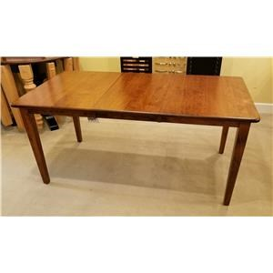 Franklin Harvest Shape Table with Removable Leaf