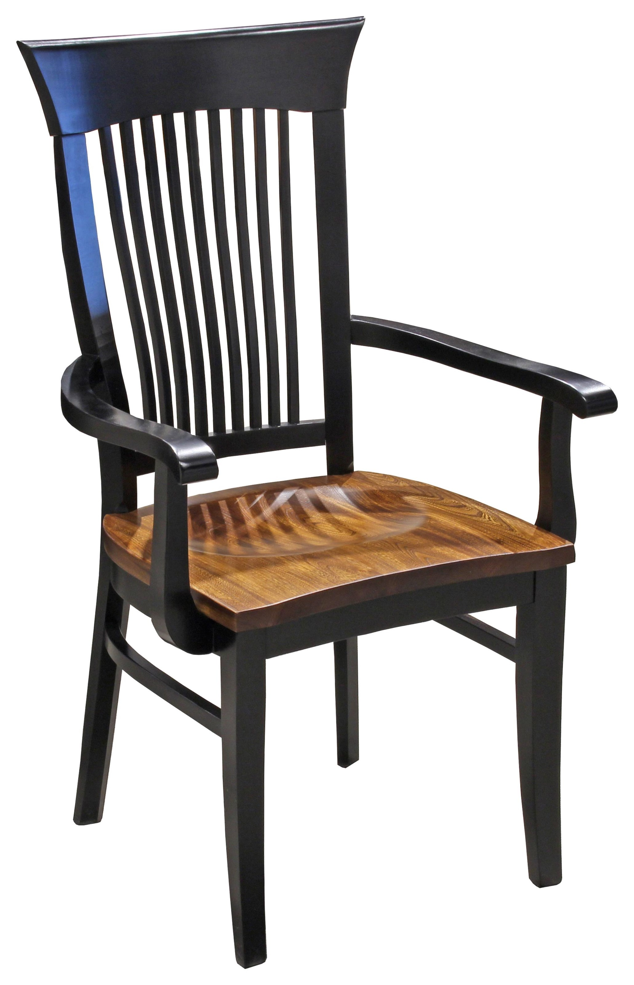 Farmhaus Amish Dining Arm Chair by Daniel's Amish at Ruby Gordon Home