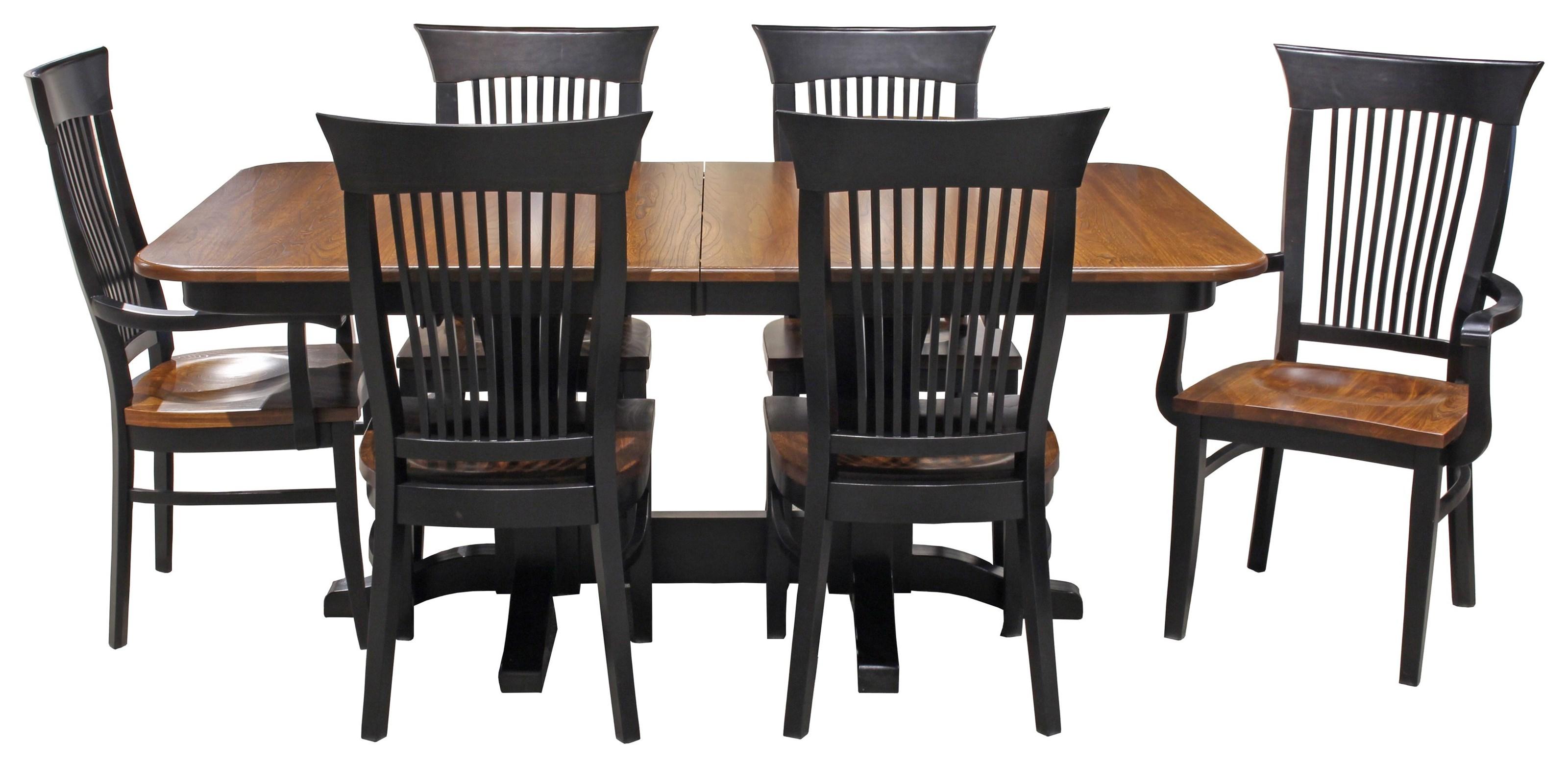 Farmhaus Amish Dining Table by Daniel's Amish at Ruby Gordon Home
