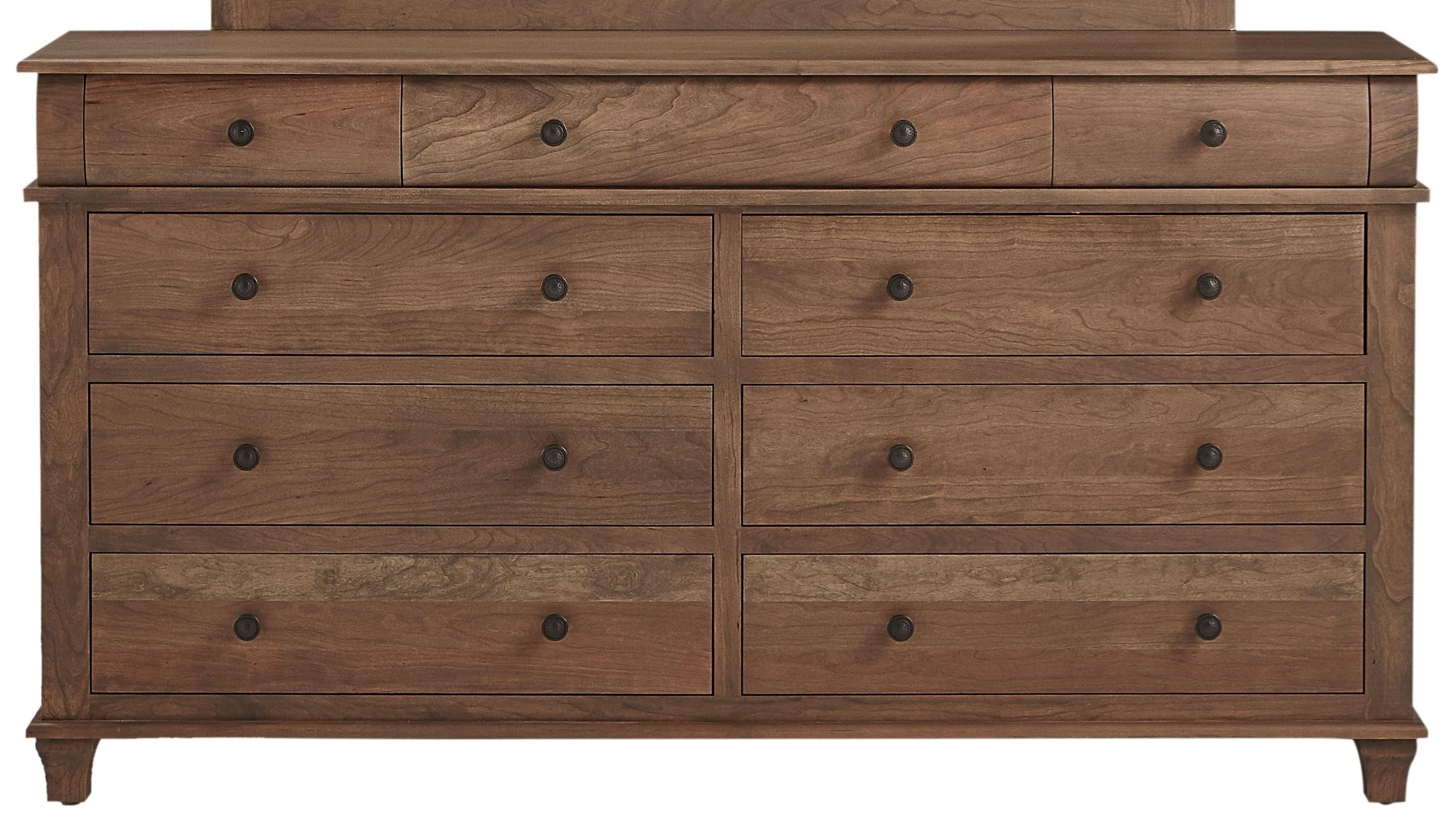 Highland Double Dresser by Daniel's Amish at Saugerties Furniture Mart
