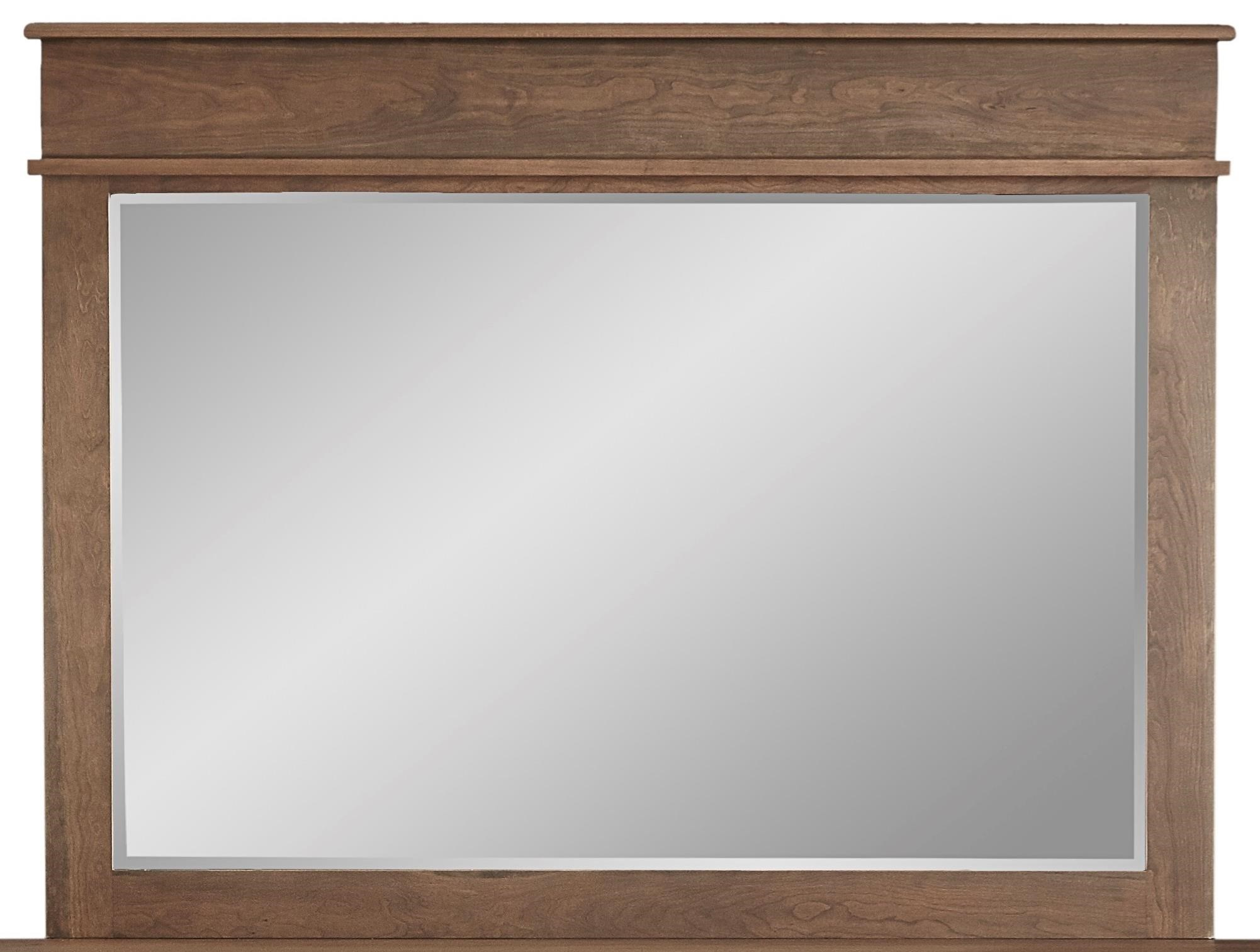 Highland Mirror by Daniel's Amish at Saugerties Furniture Mart