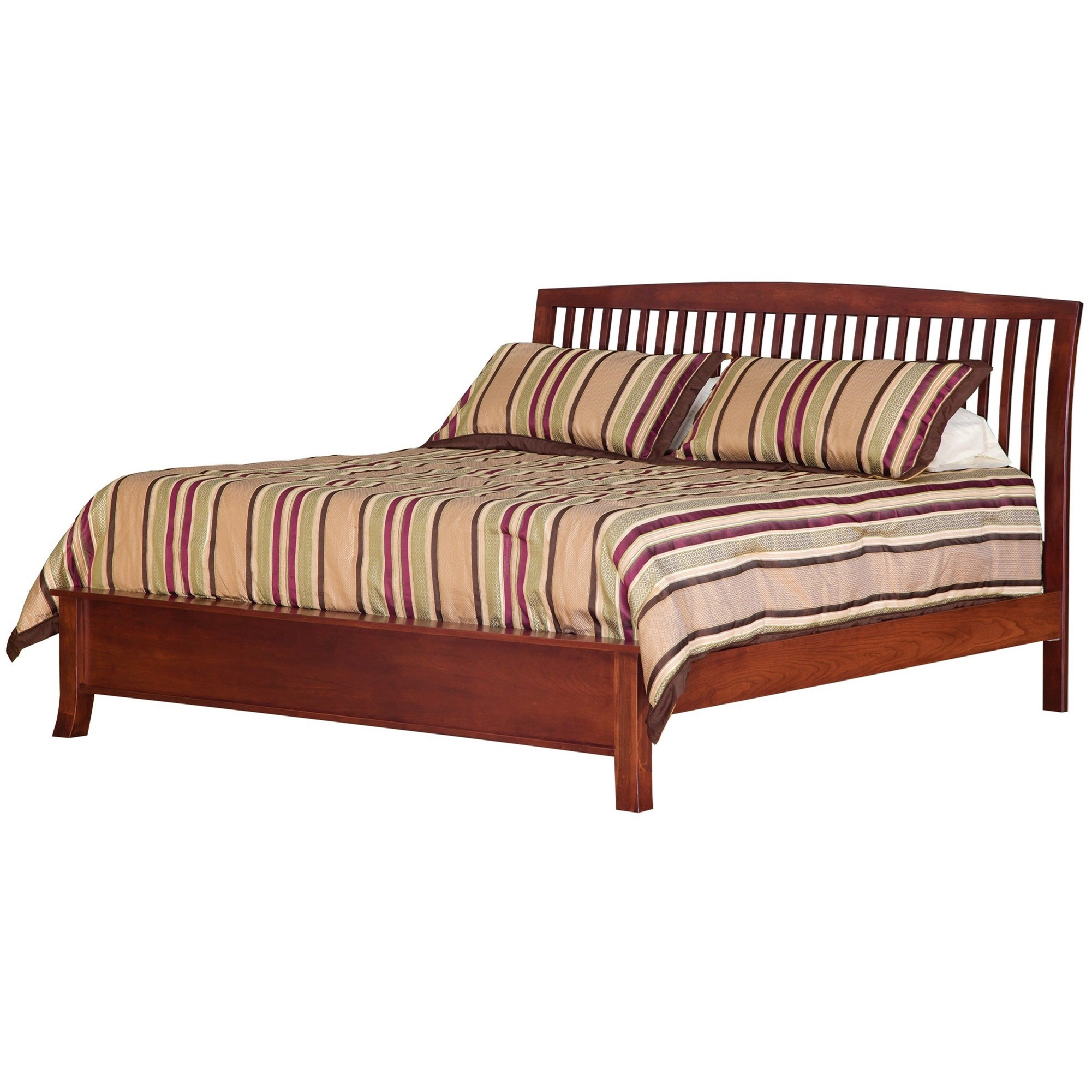 Holmes King Bed by Daniel's Amish at Saugerties Furniture Mart