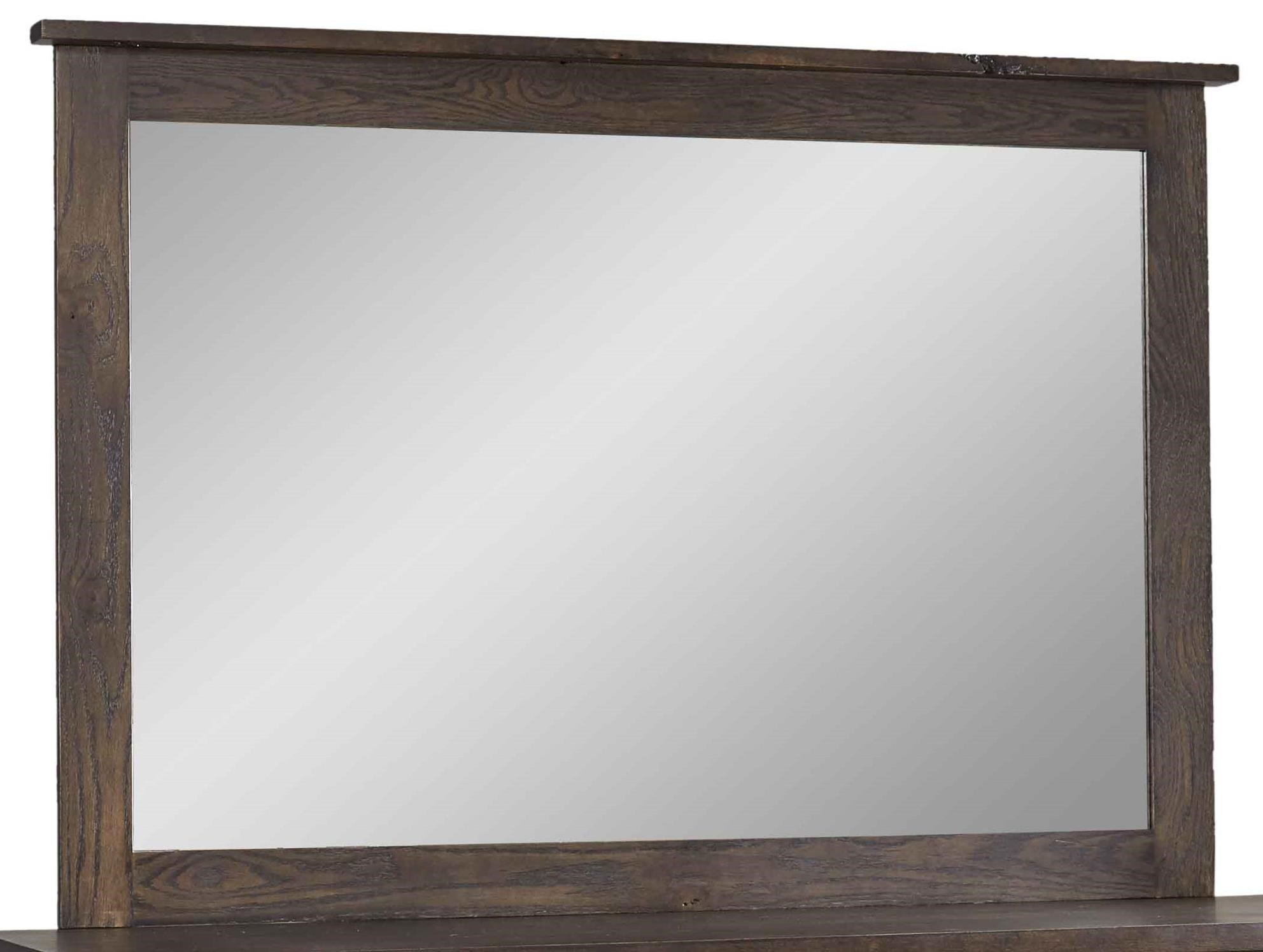Homestead Mirror by Daniel's Amish at Saugerties Furniture Mart