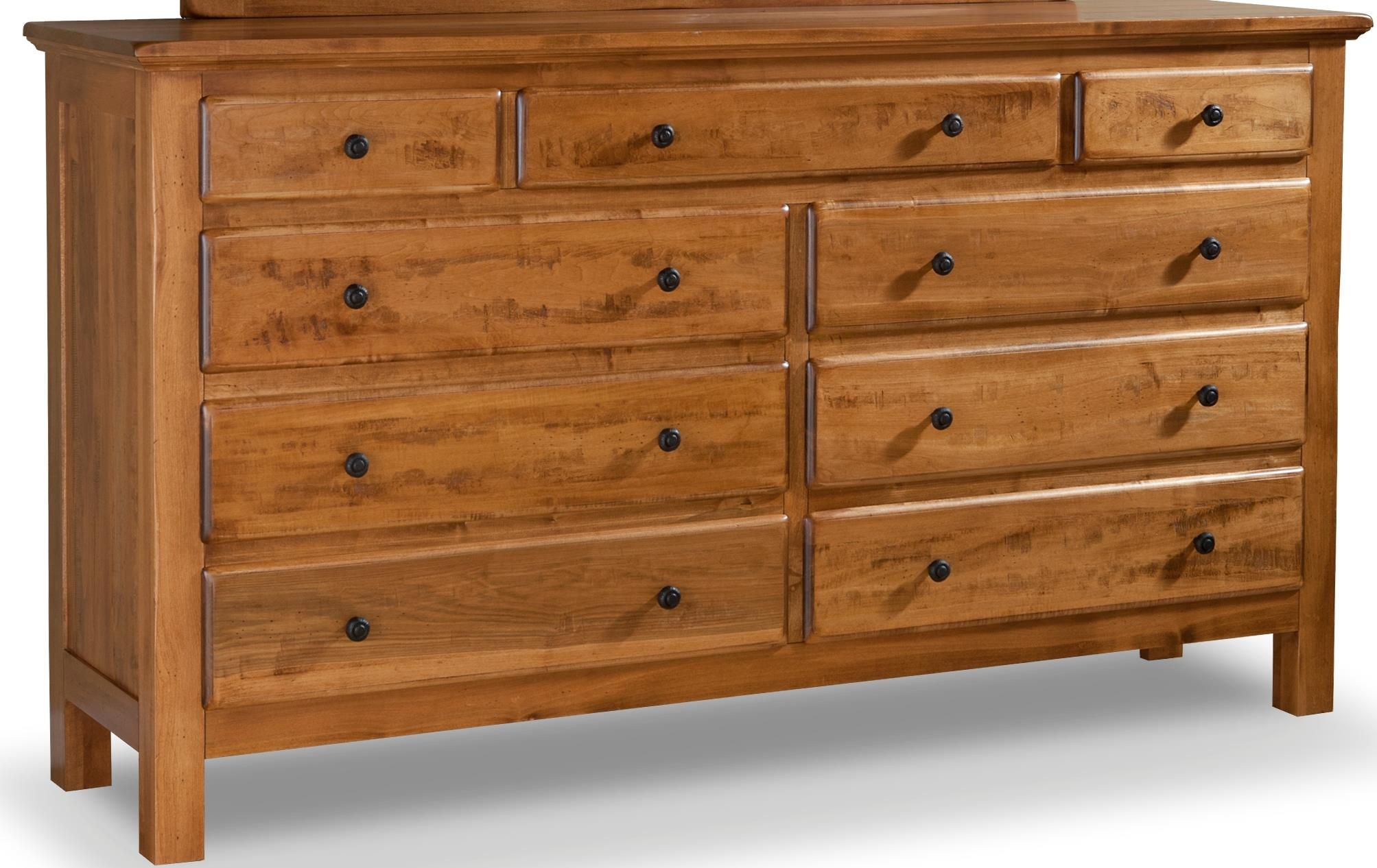 Lewiston Double Dresser by Daniel's Amish at Saugerties Furniture Mart