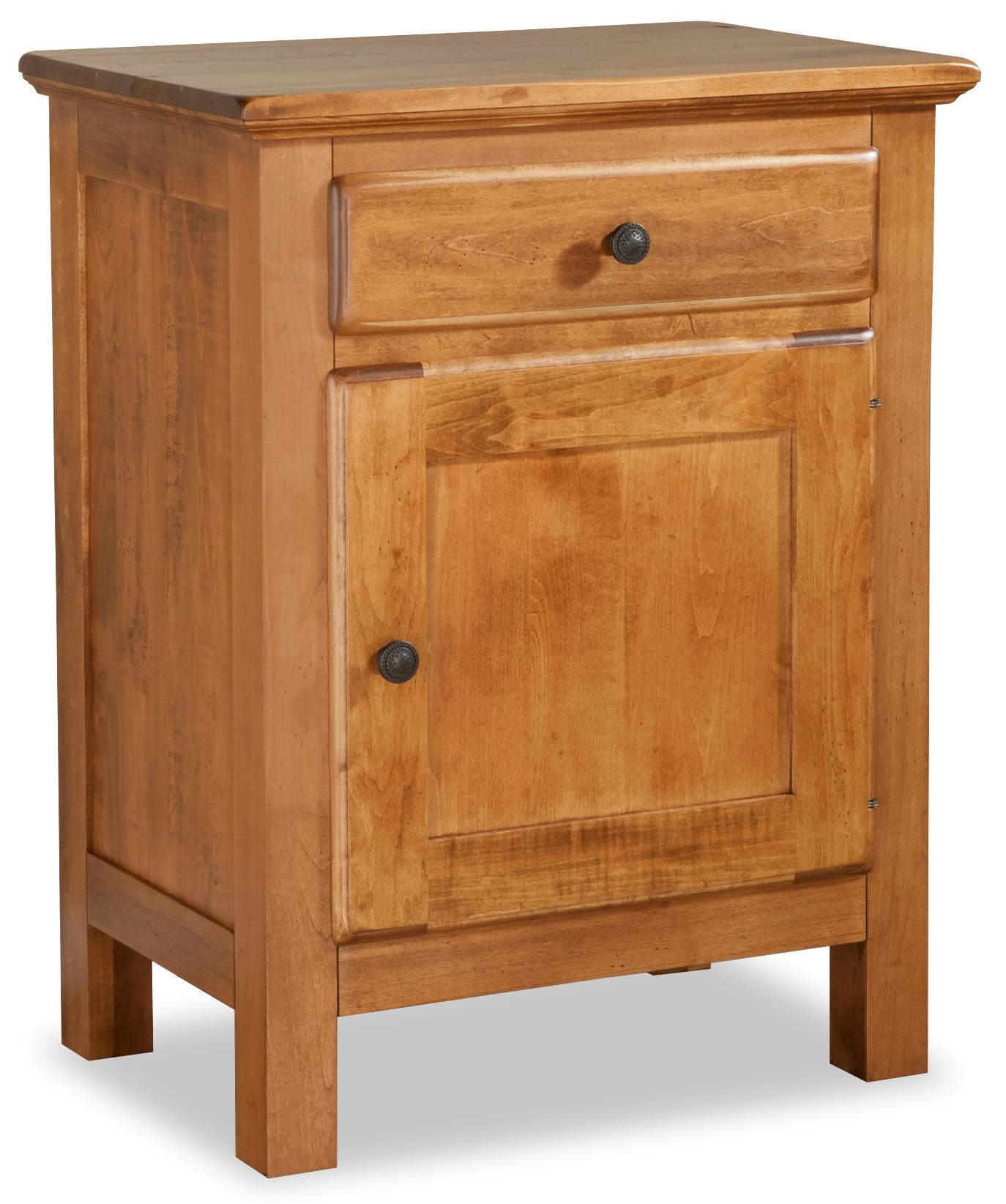 Lewiston Nightstand by Daniel's Amish at Saugerties Furniture Mart