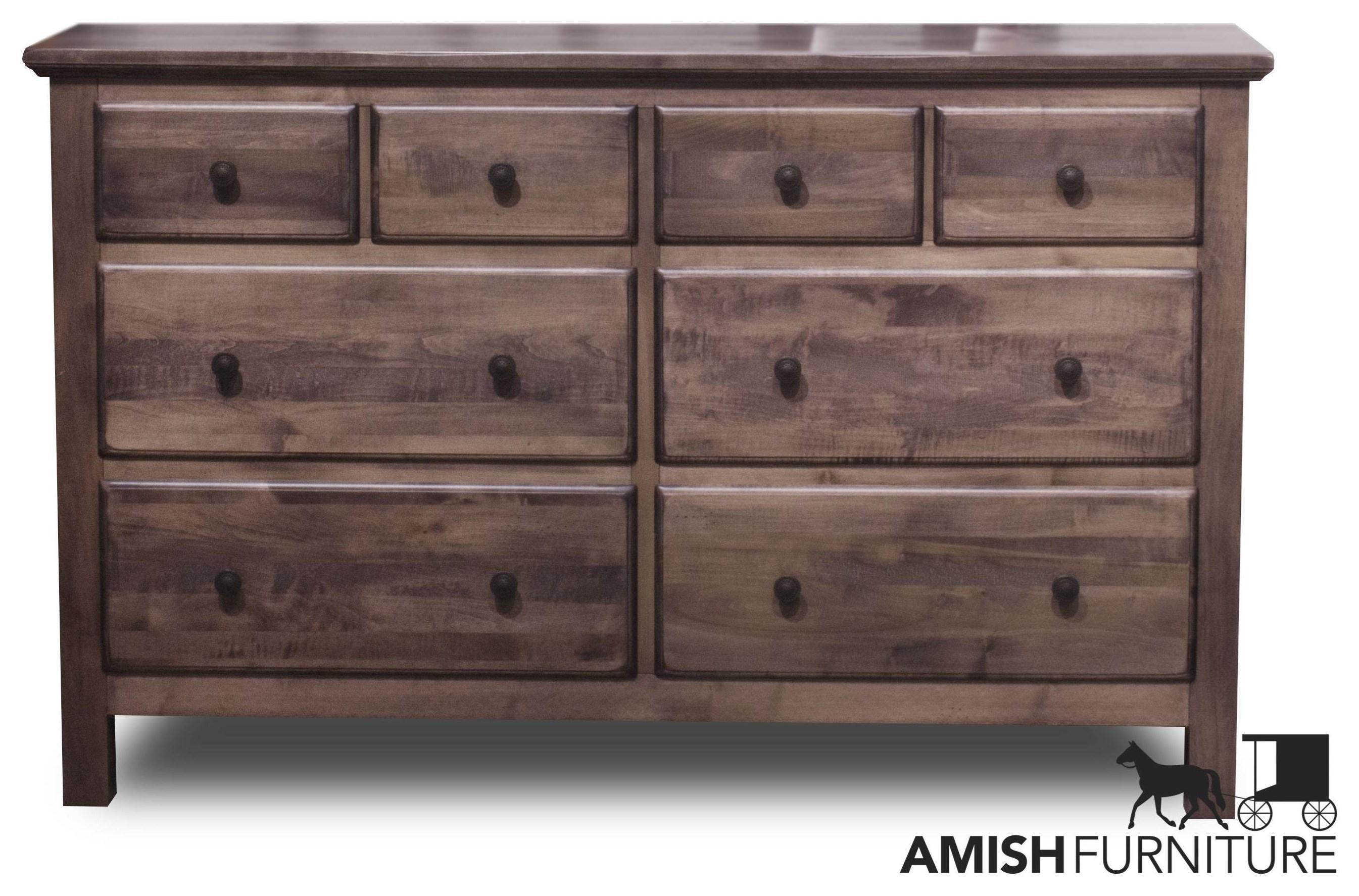 Lewiston 8 Drawer Dresser by Daniel's Amish at Ruby Gordon Home