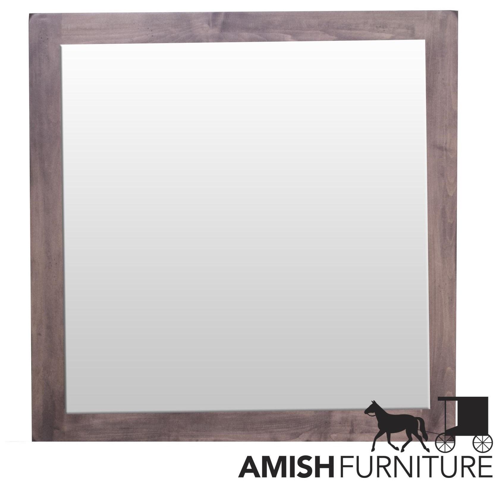 Lewiston Dresser Mirror by Daniel's Amish at Ruby Gordon Home