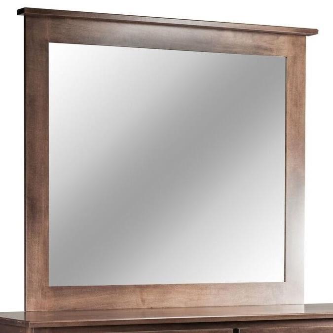 Mapleton Tall Medium Mirror by Daniel's Amish at Saugerties Furniture Mart