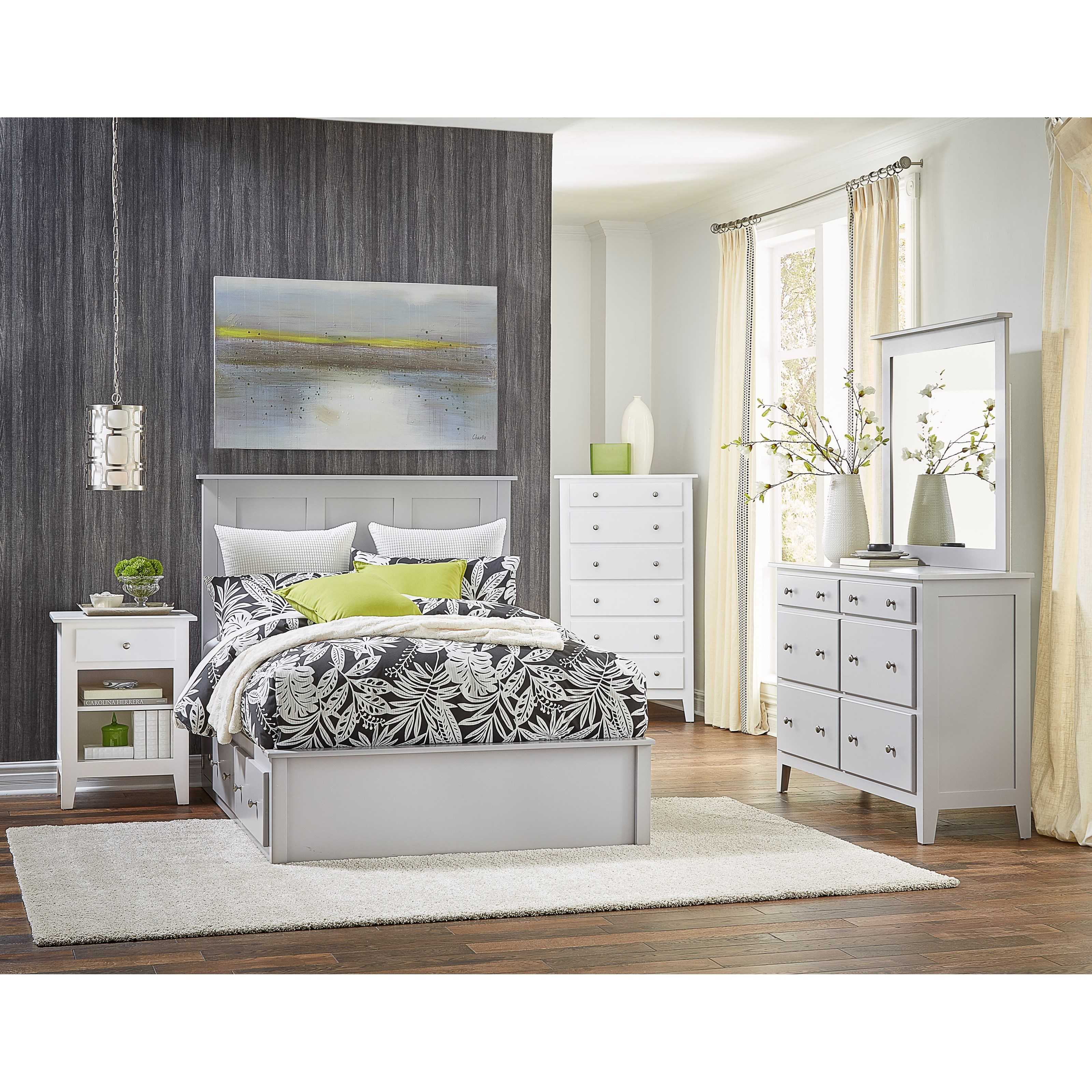 Mapleton King Bedroom Group by Daniel's Amish at Saugerties Furniture Mart