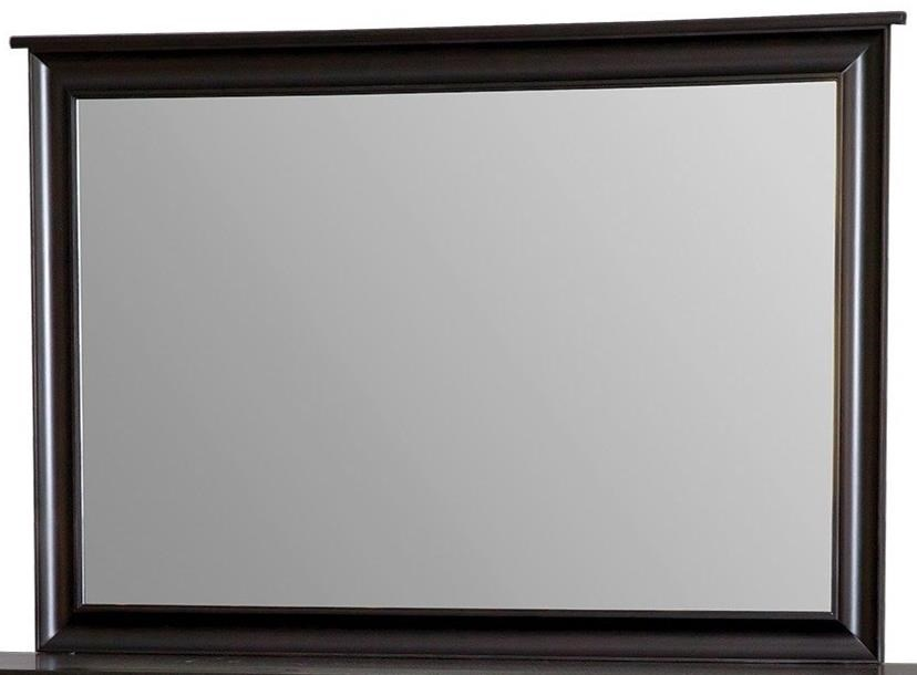 Metropolitan Tall Wide Mirror by Daniel's Amish at Saugerties Furniture Mart