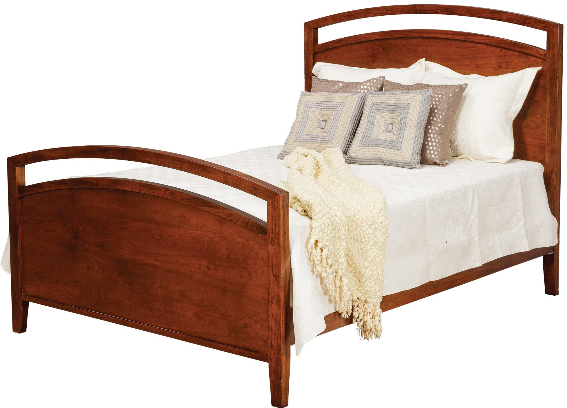 Nouveau Queen Bed by Daniel's Amish at Saugerties Furniture Mart