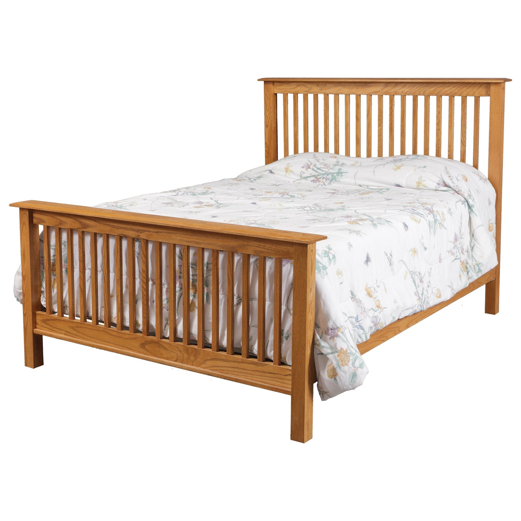 Simplicity King Bed by Daniel's Amish at H.L. Stephens