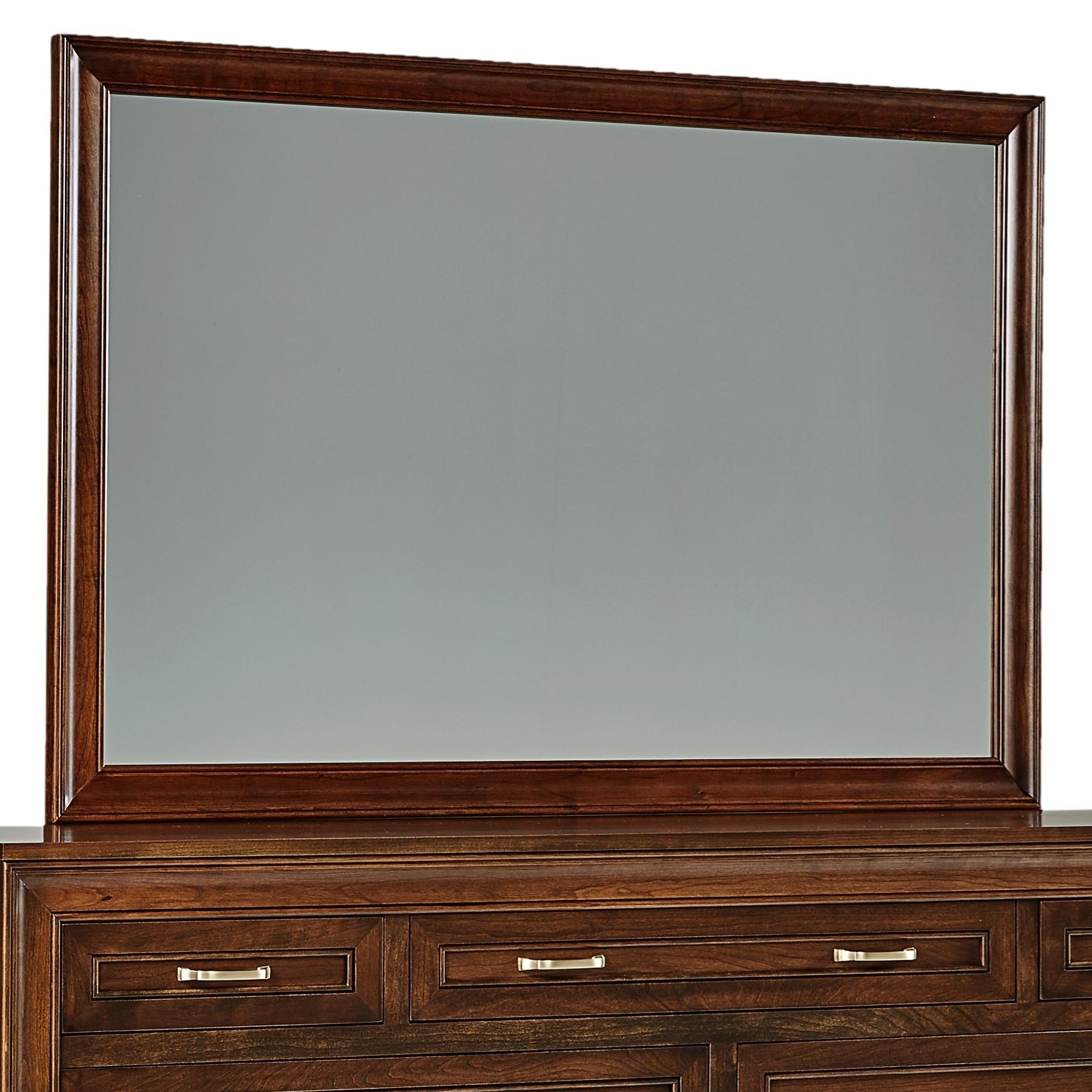Summerville Tall Wide Mirror by Daniel's Amish at Saugerties Furniture Mart