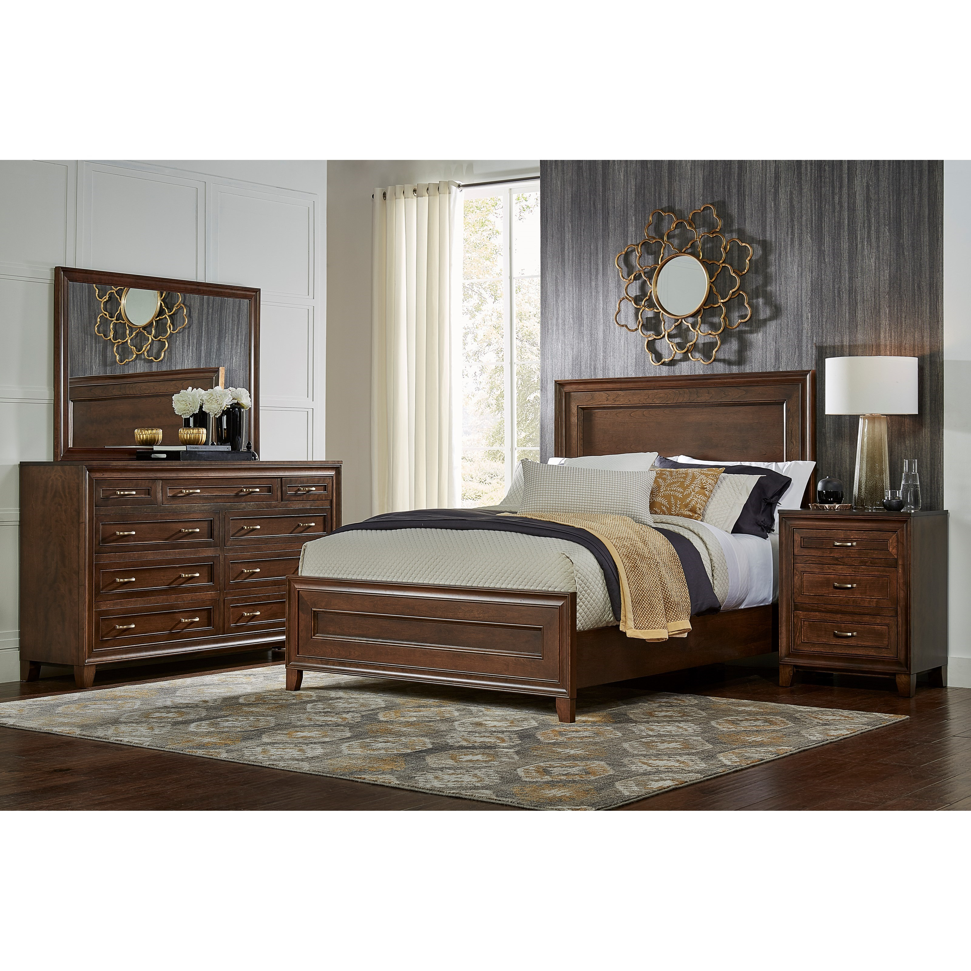 Summerville California King Bedroom Group by Daniel's Amish at Westrich Furniture & Appliances