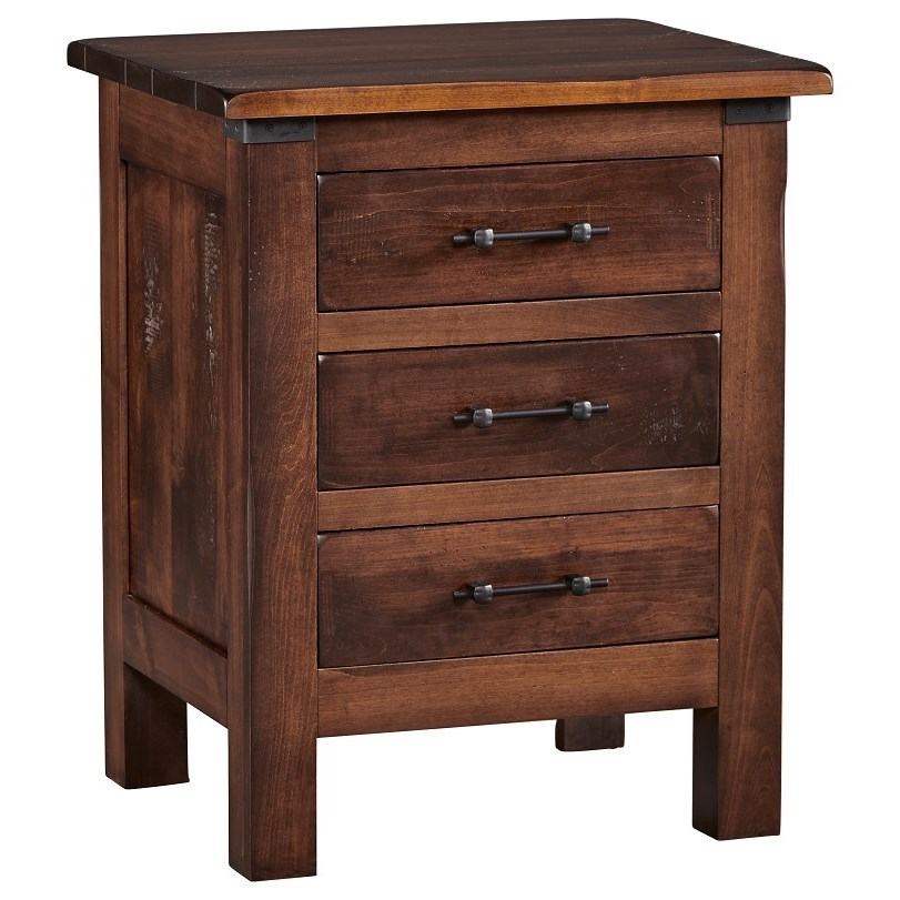 Wildwood Nightstand by Daniel's Amish at H.L. Stephens