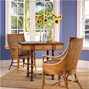David Francis Furniture Dining Room St. Thomas Cane Dining Chair