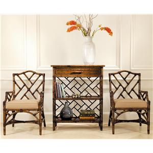 David Francis Furniture Dining Room Chinese Chippendale Chairs