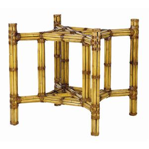 David Francis Furniture Dining Room Square Rattan Table Base