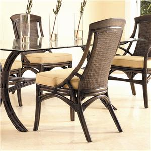 David Francis Furniture Dining Room Paris Side Chair