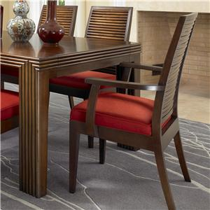David Francis Furniture Dining Room Stacked Bamboo Chairs