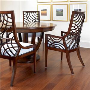 David Francis Furniture Dining Room Manhattan Dining Chair