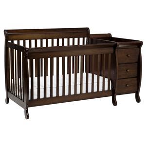 DaVinci Kalani Crib and Changer with Toddler Rail