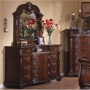 Davis Direct Coventry Dresser and Mirror